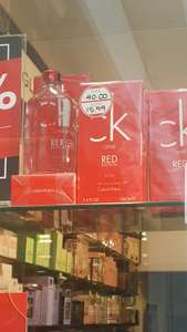 CK ONE Red 100ml For Her £15.99 Instore @ The Perfume Shop