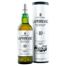 Laphroaig 10 years Scotch Single Malt Whisky 70cl - £25 - Asda