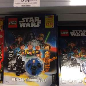 OFFICIAL LEGO STAR WARS 2018 ANNUAL £2.99 Instore @ HOME BARGAINS