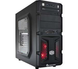 PC SPECIALIST Vortex Cyclone III Gaming PC - GTX 1070 - Sale at Currys! - £599.97