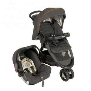 Graco Fast Action Fold Travel System in Bowtie Bear was £200 now £98 @ Tesco Direct (more in OP)