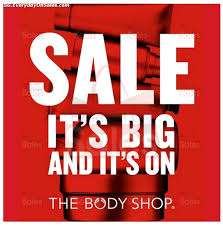The Body Shop Sale Now On Plus 50% Code when you spend £40+ (Free delivery)
