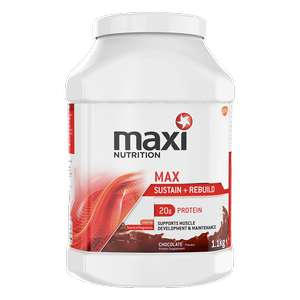 Maxi muscle protien £10 1kg + 40% off with unidays (+£4.50 P&P for orders under £40) @ Maxi Nutrition