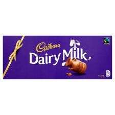 850g Cadbury dairy milk chocolate bar £6.00 Tesco