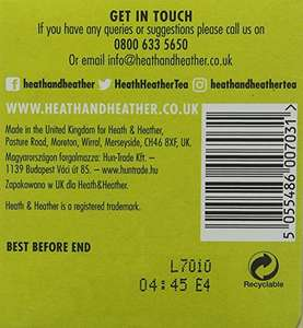 Heath and Heather Organic Lemon Balm and Liquorice Teabags (Pack of 6, Total 120) £2.52 @ Amazon - Add on item