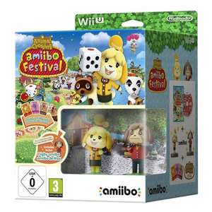 Animal Crossing: amiibo Festival + Isabelle amiibo + Digby amiibo + 3 amiibo Cards (Wii U) £8.50 Delivered @ The Game Collection