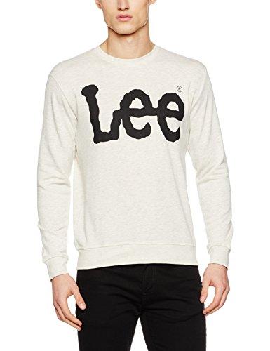 Lee Men's Logo Sws Sweatshirt, Black, One Size (Large) - £12.48 (Prime / £17.23 non Prime) @ Amazon