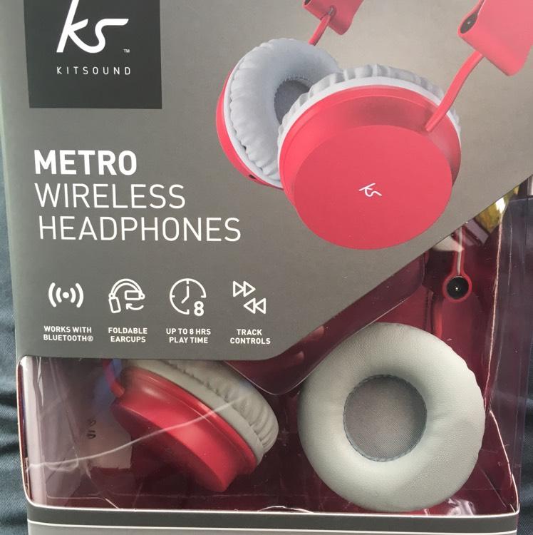 Kitsound wireless headphones less than half price - £10 instore at Sainsbury