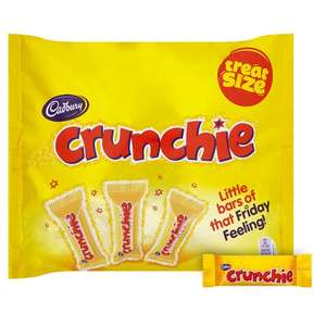 CrunchieTreat Size 210g/ Smarties Treat Size 18pk £1.00 @ One Stop