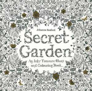 Secret Garden: An Inky Treasure Hunt and Colouring Book £4 prime / £6.99 non prime @ Amazon