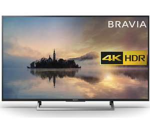 "SONY BRAVIA KD55XE7002 55"" Smart 4K Ultra HD HDR LED TV  £584.10  Currys with code"
