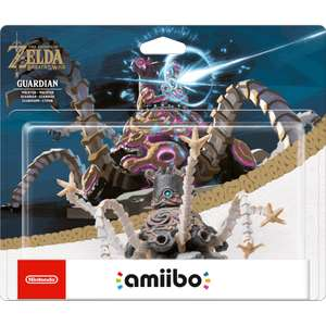 Zelda: Breath of the wild - Guardian Amiibo - instock now @ Nintendo £16.99 + £1.99 delivery - £18.98 (free p&p over £20)