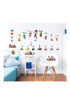 Walltastic Wall Sticker packs were £19 now from £13 (Includes Paw Patrol, Unicorns, Marvel, and more) C+C @ Littlewoods