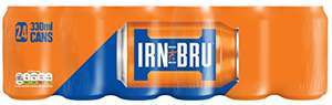 24 can pack of iron bru £6.00 add on item Amazon (25p a can)