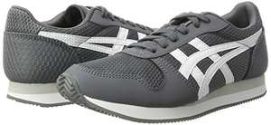Asics Unisex Adults' Curreo II Trainers, Grey (Carbon/White) (Size 4.5 - 10) - reduced to £30 @ Amazon