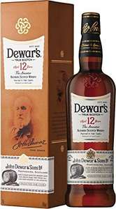 Dewars 12 year old whisky. Lowest ever Amazon price - £23