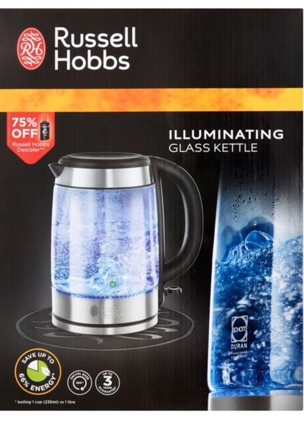 Russell Hobbs Glass Kettle 1.7L - £22.50 @ Morrisons