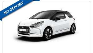 Citroën DS3 1.2 PureTech - 12 month lease, no deposit, 12 x 175.19 + 300 fee = £2,402.28 @ YesLease