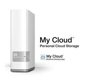 WD My Cloud Wireless NAS Drive - White 3 TB was £139.97 now £99.97 / 4 TB was £149.97 now £124.97 @ Currys PC World
