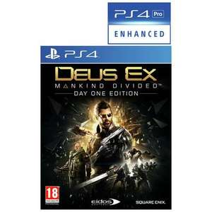 Deus Ex: Mankind Divided [PS4/Xbox One] £4.99 @ Argos