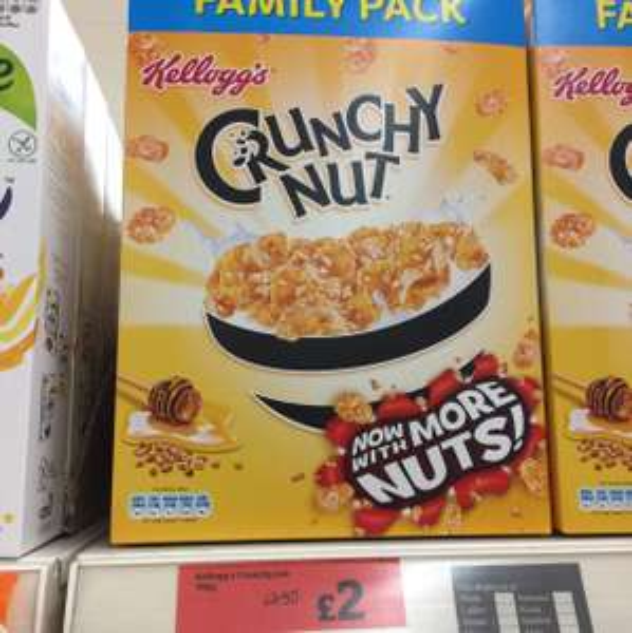 Kellogg's Crunchies at Sainsbury's for £2