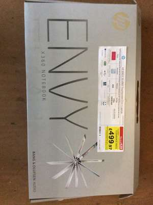 HP ENVY 15 x360 Touchscreen 2-in-1 Laptop i7 processor, 8gb mem, 1TB & 128GB SSD storage £499.97 - Clearance, in store only at Currys