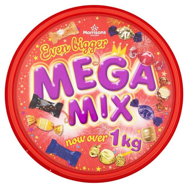 Morrisons Mega Mix  1.05kg   £3.00