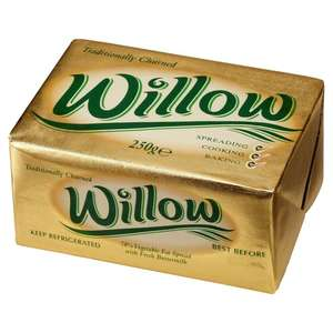 Willow Spread Block (250g) 7 Day Deal @ Iceland 50p