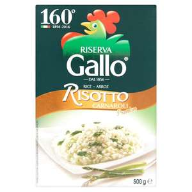 Gallo Carnaroli Risotto Rice Riserva 500g £1.50 at Morrisons