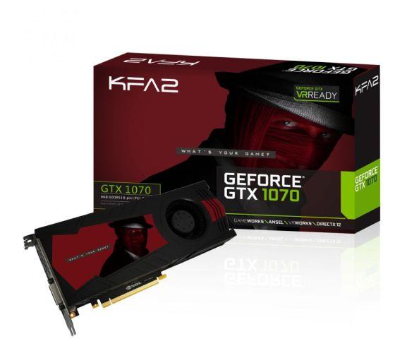 KFA2 GTX 1070 8GB @ OCUK - £358.69