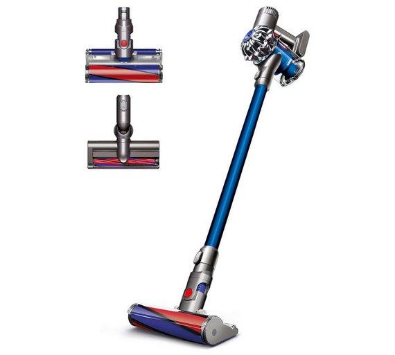 Dyson V6 Cordless Fluffy Handstick Vacuum Cleaner £199.99 Argos