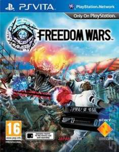 Freedom Wars PS Vita pre owned £7.65 delivered (only 2 left in stock) @ musicmagpie