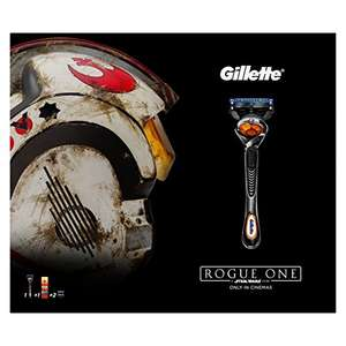 Gillette Fusion ProGlide Razor Plus Two Razor Blades and Shaving Gel - Rogue One Set, £6.20 @ Amazon with prime (£10.19 Non-Prime)