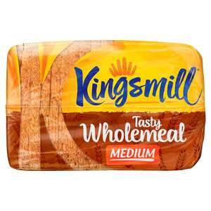 Kingsmill Bread 800g 50p @ Tesco from 12/10/2017