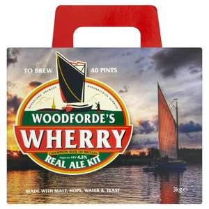 Woodfordes beer kits £18 @ Wilko