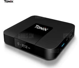 Tanix TX3 Mini TV Box  -  2GB RAM + 16GB ROM  EU PLUG (UK Warehouse!) Android 7.1, includes remote £23.33 Delivered using code @ Gearbest