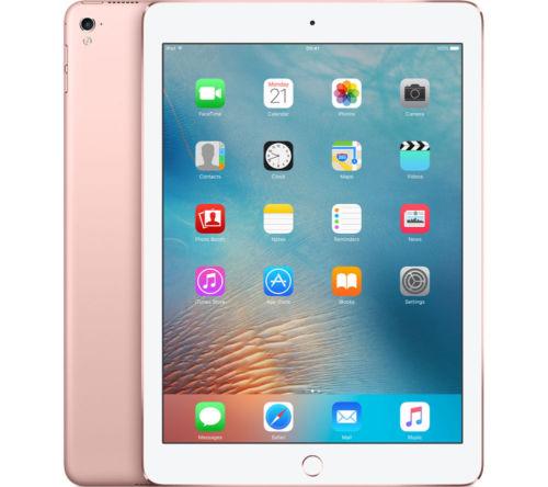 "APPLE 9.7"" iPad Pro Cellular - 32 GB, Rose Gold £324.97 @ Currys eBay"