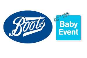 Boots Baby Event now LIVE - Pampers Essential Pack Nappies £5 / 50% Off Selected Tommee Tippee bottles / 1/2 price on selected Aveeno Baby + Lots more