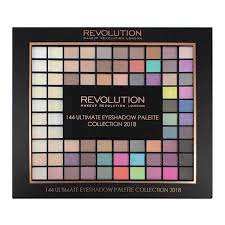 Makeup Revolution Ultimate 144 Eyeshadow Palette 2018 was £16 now £8 Del with H&B Card @ Superdrug