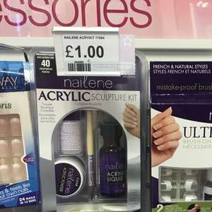 Nailene acrylic sculpture kit £1 superdrug instore