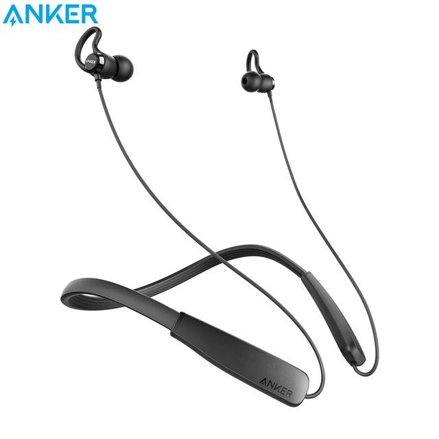 Anker SoundBuds Lite Bluetooth Headphones Built-in Mic Wireless Lightweight Neckband Headset IPX5 Water Resistant Sport Earphone £15.37 @ Ali Express /  ANKER Official Store