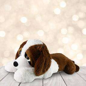 Jumbo Plush Puppy Dog ONLY £10 with free reserve & collect at Dunelm (90cm long)