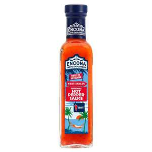 Encona Hot Pepper Sauce + 50% Extra Free (220ml for the price of 142ml) 75p @ poundstrecher