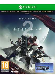 Destiny 2 - Includes Coldheart Exotic Weapon DLC £29.99 @ Simply Games (Xbox One)