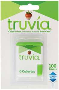 Truvia 100 Tablets (Pack of 12) - £13.80 @ Amazon.UK (Prime exclusive)