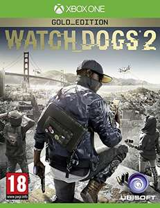 Watch Dogs 2 Gold Edition Xbox One - £44.99 - Sold by The Blu Raymondo and Fulfilled by Amazon