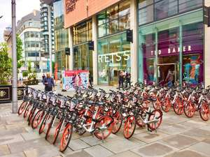 Manchester Mobike £2 refundable deposit - usually £29