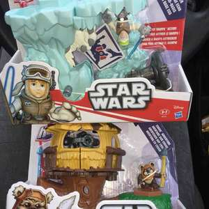 Playskool Heroes Star Wars Small Playset £5 instore @ Poundland