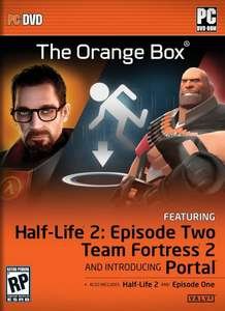 The Orange Box PC / Steam £2.99 (£2.84 with FB Code) @ CDKeys