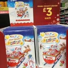 KINDER ADVENT CALENDAR £3 @ ASDA